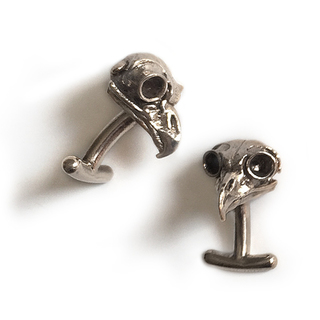 Great horned owl cufflinks wb legacy square thumb