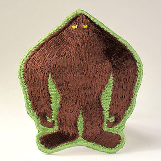Bigfoot patrol silhouette patch 1024x768 large legacy square thumb