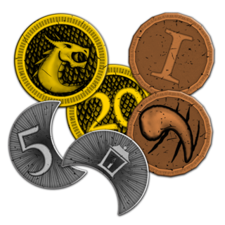 Metal coin spread legacy square thumb