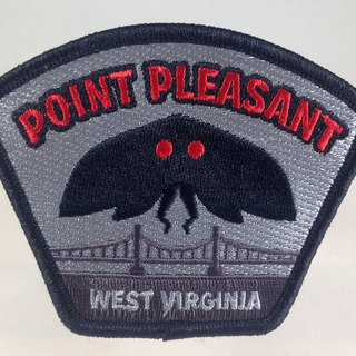 Point pleasant west virginia mothman travel patch 2 legacy square thumb