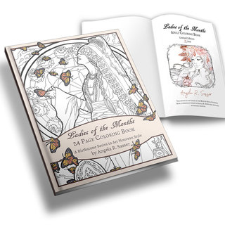 Ladies of the months coloring book   le book image legacy square thumb