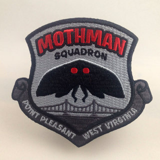 Mothman squadron point pleasant patch legacy square thumb