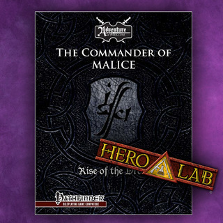 Rise of the drow prologue pf  hero 20lab  legacy square thumb
