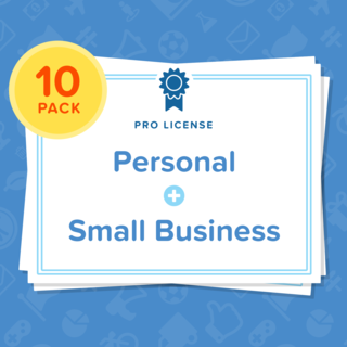 Bk license personal 2bsmall business 10pack legacy square thumb