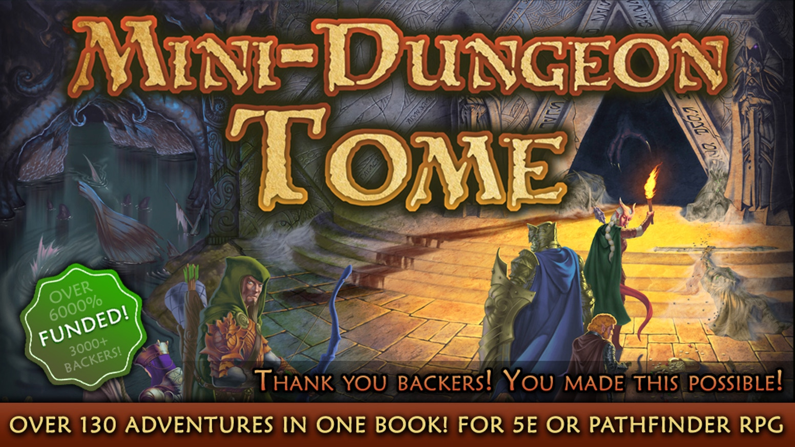 Mini dungeon tome main image
