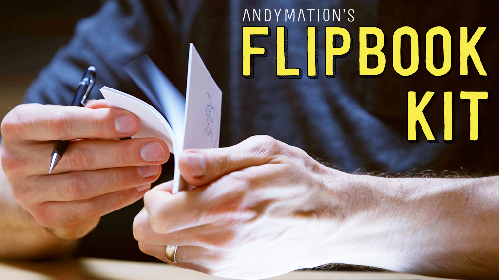 Kickstarter flipping thumbnail poster with text 1024