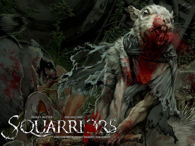 SQUARRIORS: Teeth & Nails