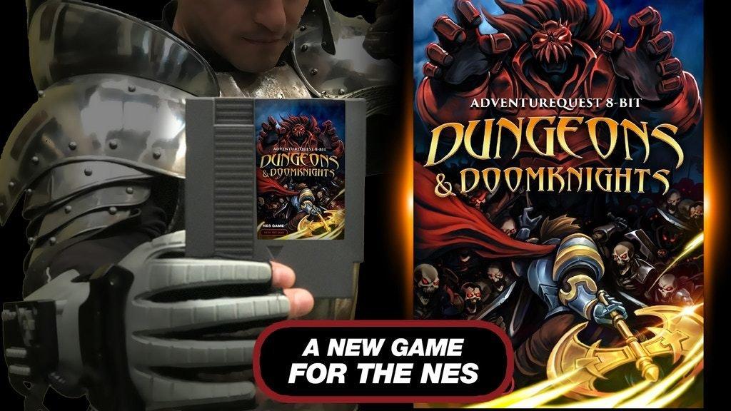 Project Updates for DUNGEONS & DOOMKNIGHTS: An 8-bit AdventureQuest