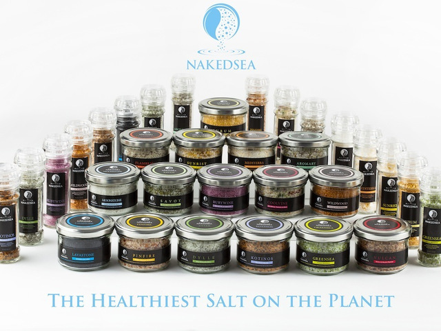 Naked Sea: Naturally Harvested Gourmet Mineral Dead Sea Salt