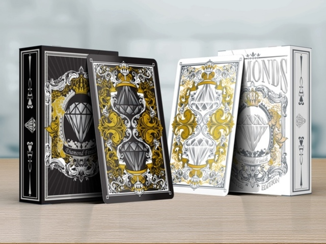 Diamonds Playing Cards - The Most Luxurious Playing Cards