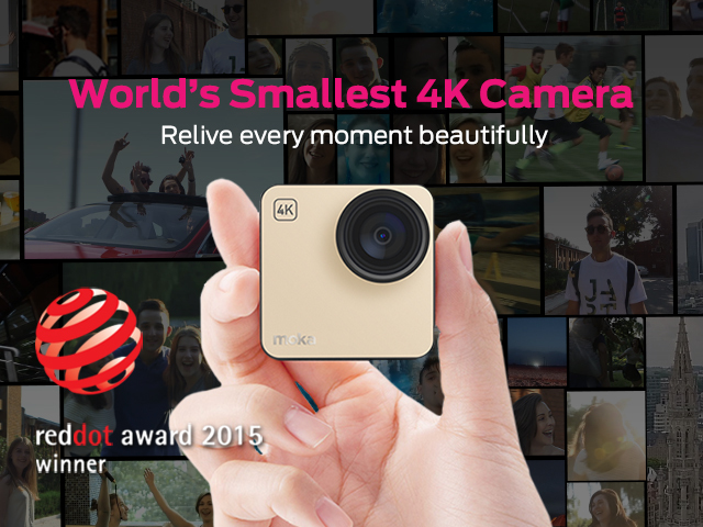 The World's Smallest 4K Camera - Mokacam