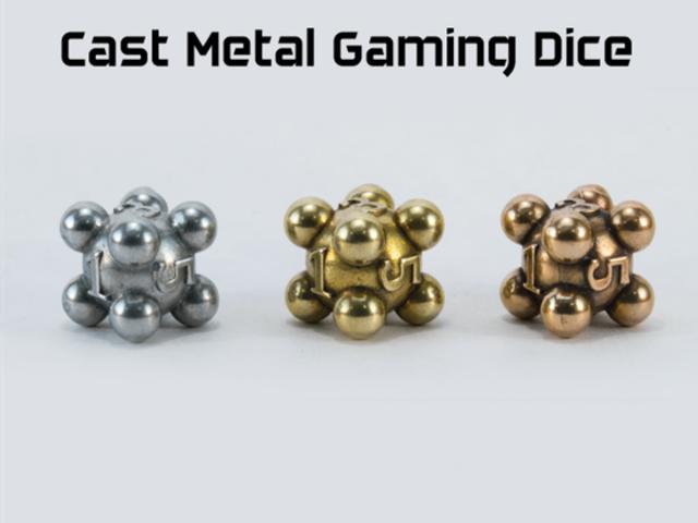 Cast Metal Gaming Dice
