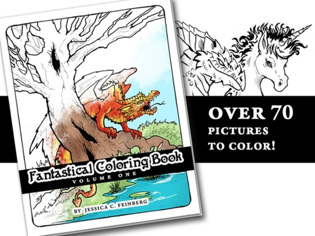 Fantastical Coloring Book