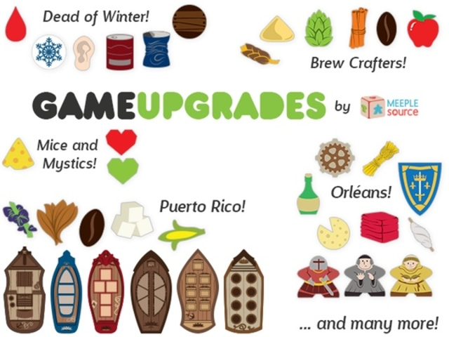More Game Upgrade Kits by Meeple Source!