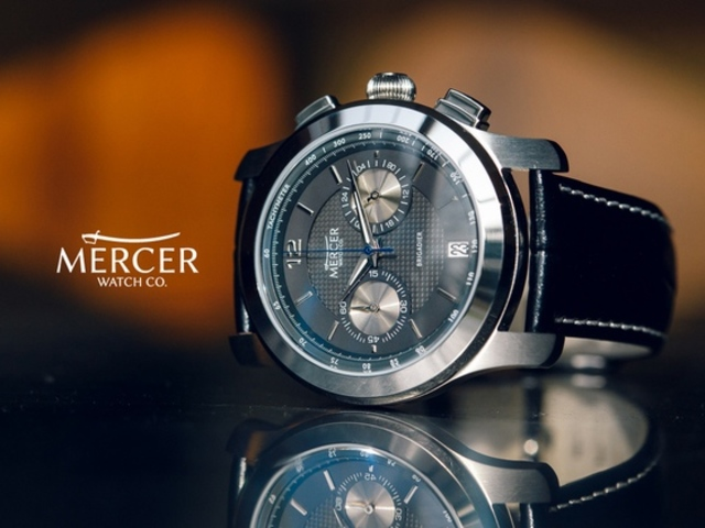 The Brigadier Chronograph by Mercer Watch Company