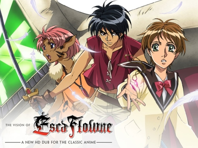 The Vision of Escaflowne: A New HD Dub for the Classic Anime
