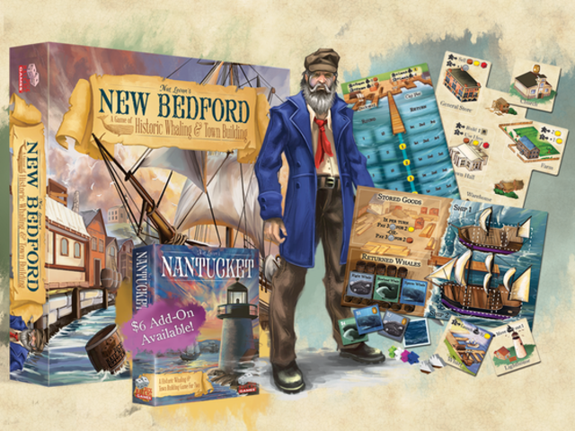 New Bedford: The Game of Historic Whaling & Town Building