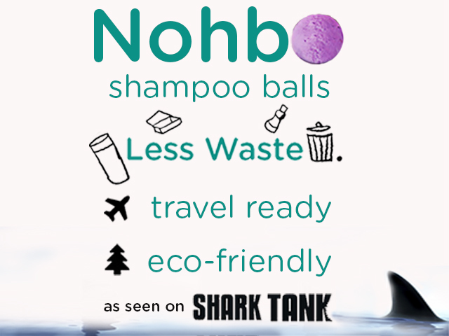 Nohbo: The World's First Eco-Friendly Shampoo Ball