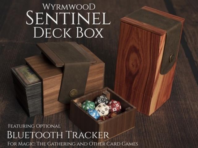 Wyrmwood Sentinel Deck Box with optional Bluetooth Tracker