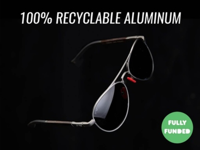 Infinitely Recyclable Aluminum Sunglasses | by Proof