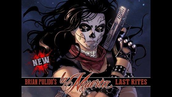 Brian Pulido Bang Bang Edition La Muerta: Descent
