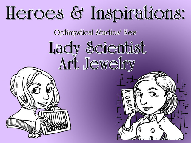Heroes & Inspirations - Our New Art Jewelry Line