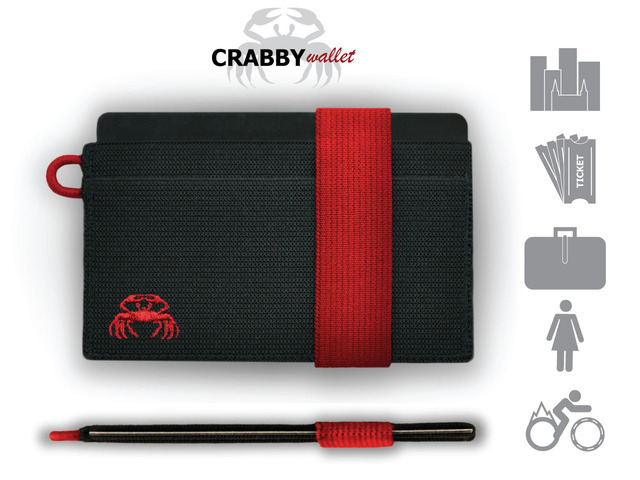 The CRABBY Wallet: A wallet that is not for everyone...