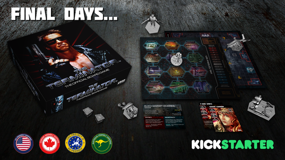 The Terminator™: The Official Board Game on BackerKit