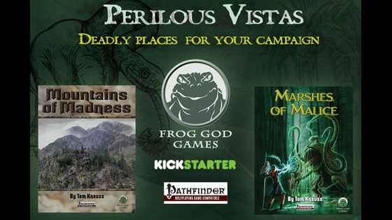 Project Updates for Perilous Vistas: Two New Environment