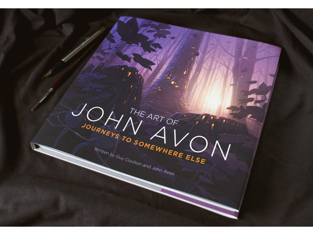 'Journeys to Somewhere Else' by John Avon