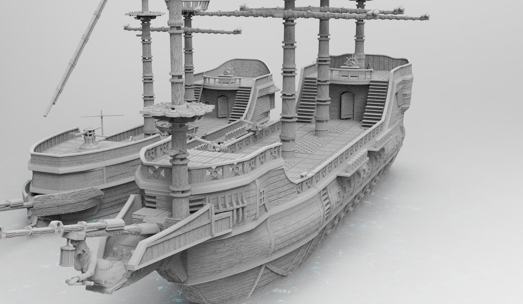 Preorder ShipWorks 3d Printable Ship Terrain on BackerKit