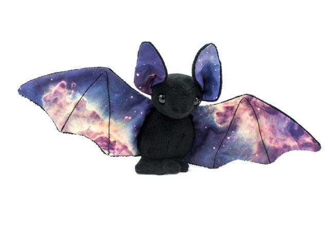 Galaxy Bat Plushies